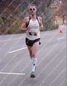 David Le Porho dans sa bulle... Il finira 19e en 2:26:47